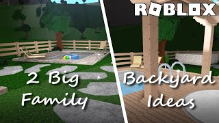 Backyard Oasis 18k Speedbuild Roblox Bloxburg