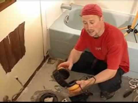Floor Tiling Preparation - Part 4 - Removing Cocking & ...