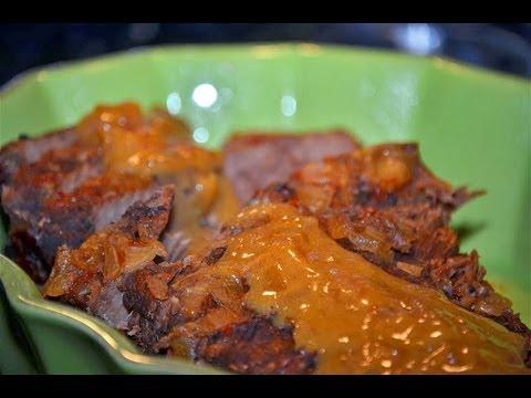 Reel Flavor -Crock- Pot Beef Brisket