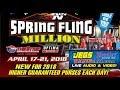 The Spring Fling Million 2018 Saturday
