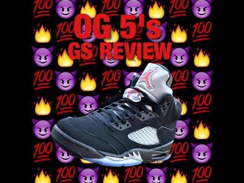 GS OG 5's Jordan Review !!!!!!!