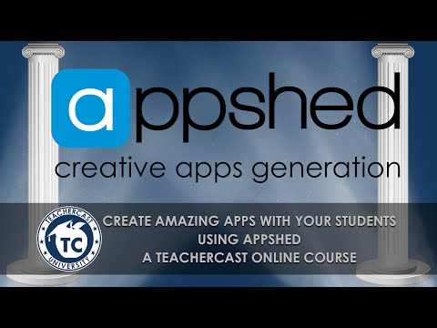 An Introduction to creating AWESOME mobile apps using @AppShed from @TeacherCast
