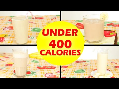 4 Banana Peanut Butter Smoothie, Healthy Smoothie Recipes For Weight Loss