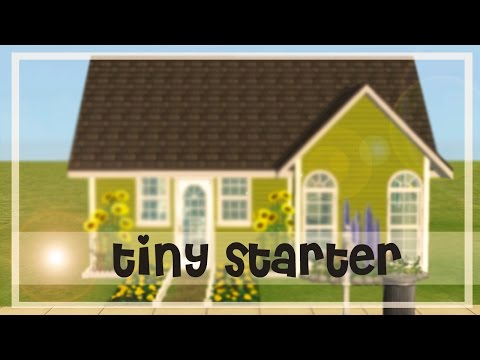 The Sims 2:Speed build|Tiny starter home