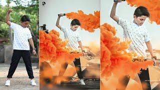photo editing in photoshop   smoke bomb