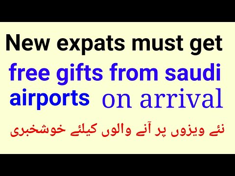 New expats coming on fresh visas must get free important gift at saudi airports on arrival