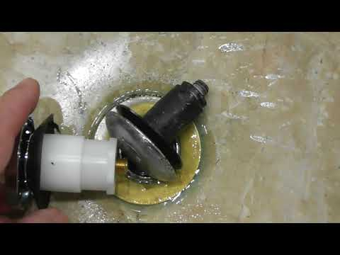 HOW TO REPAIR A LEAKING TUB DRAIN STOPPER