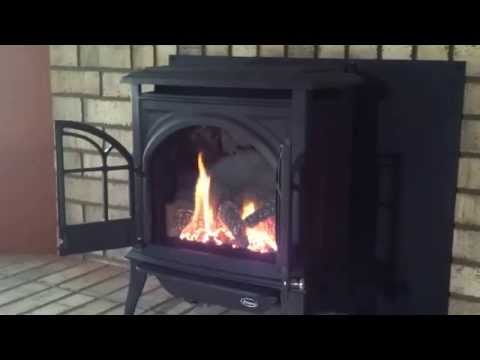 Enviro Ascot gas stove - Safe Home Fireplace