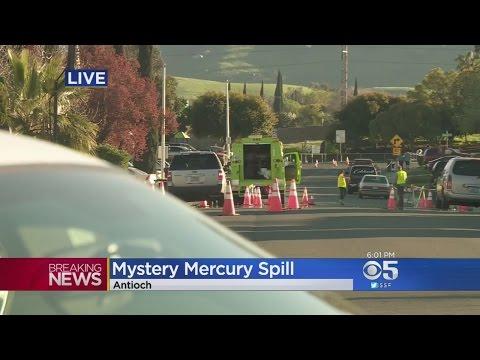 Hazmat Crews Work To Clean Up Antioch Mercury Spill