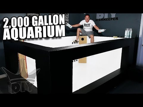 2,000 gallon aquarium, filtration and plumbing! UPDATE!!