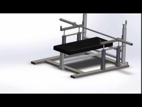automatic bench press spotter