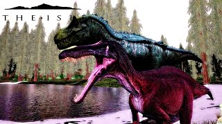 The Isle: My fight with the Hypo Rex | Daikhlo