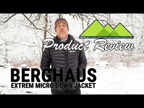 Cold Weather Berghaus Extrem Down Jacket Review