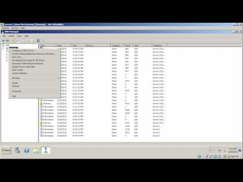 Windows Server 2008: dns debugging and logging