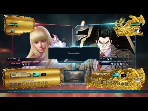 Tekken 7 Lili - Still noob with her