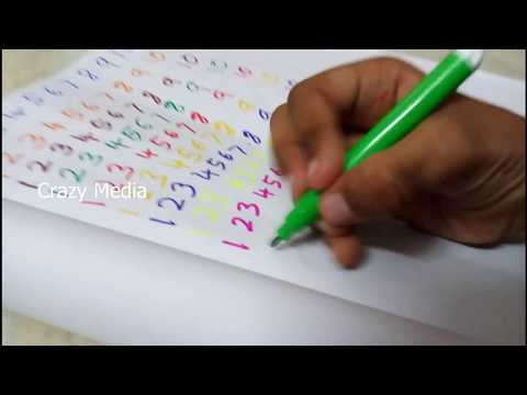 Learn to Write Numbers | numbers song for children
