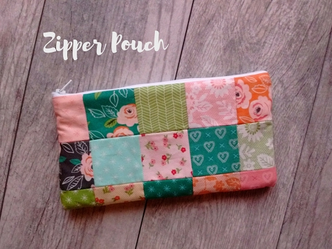 Easy Sewing Projects: Zipper Pouch Tutorial
