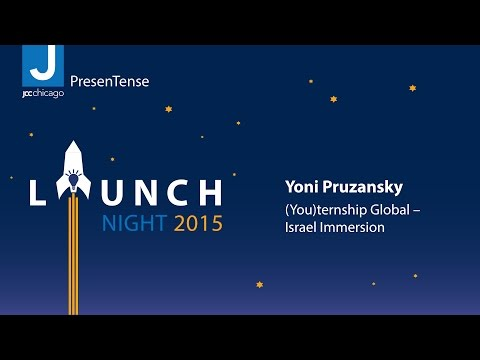 Yoni Pruzansky - (You)ternship Global – Israel Immersion