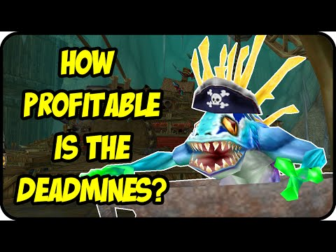 WoW Gold Farming Patch 6.2.4: Is The Deadmines Profitable? Deadmines Twink Gold Making - WoD Gold