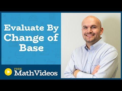 Master Evaluating Logarithmic Expressions using the Change of Base Formula