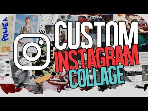 Create a Custom Collage for Instagram Feed on Photoshop