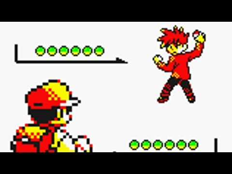 5th Elite Four Battle vs Champion Gary [Pokemon Yellow]