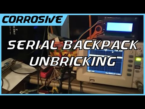 Unbricking a Serial LCD Backpack and Visualizing Serial on an Oscilloscope