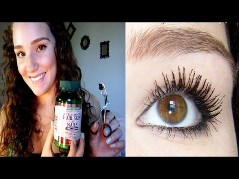My Secrets to Healthy Thick Eyelashes