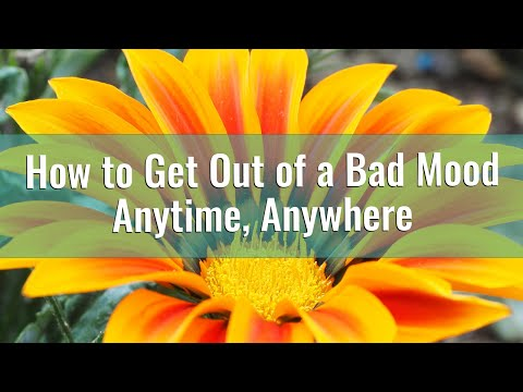 How to Get Out of a Bad Mood - Anytime, Anywhere