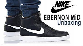 finest selection bb92e 89264 Nike EBERNON MID UNBOXING