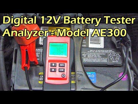 AE300 - $22 Digital Car Battery Tester Analyzer