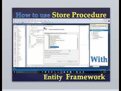 SQL SERVER : Stored Procedure with Entity Framework || Search functionality using SP in C# ASP.NET