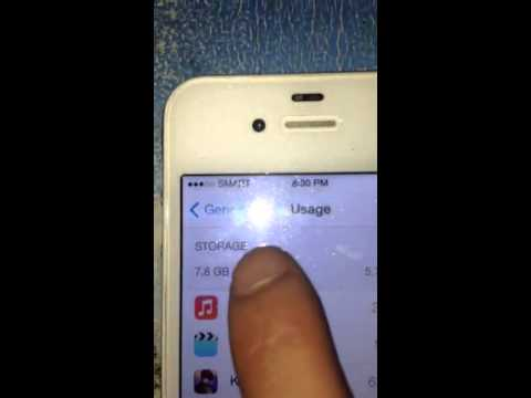 How to check memory on iPhone