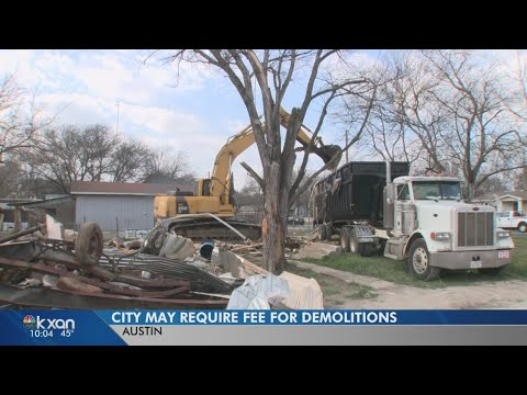 City considers charging fee for demolition, to help pay for affordable housing