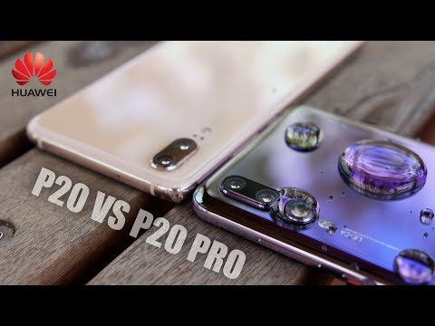 Huawei P20 Pro vs P20 Unboxing and Camera Comparison Test!