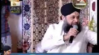 Hazrat Owais Raza Qadri Sb   Mehfil e Naat 11v Shareef 2013 from Sialkot - Melad House Sialkot
