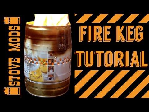 FIRE KEG / SAFETY FIRE PIT TUTORIAL
