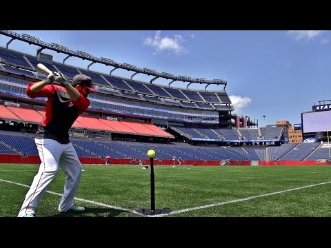 Gillette Stadium Trick Shots | Dude