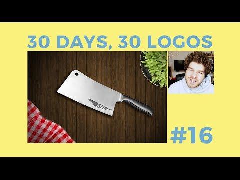 30 Days, 30 Logos #16 - Sharp