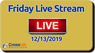 Friday Live Stream