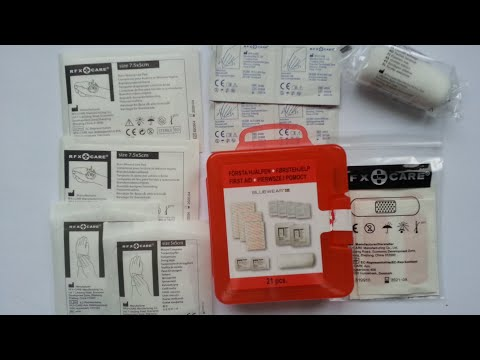Bluewear 21 pcs. First Aid Kit