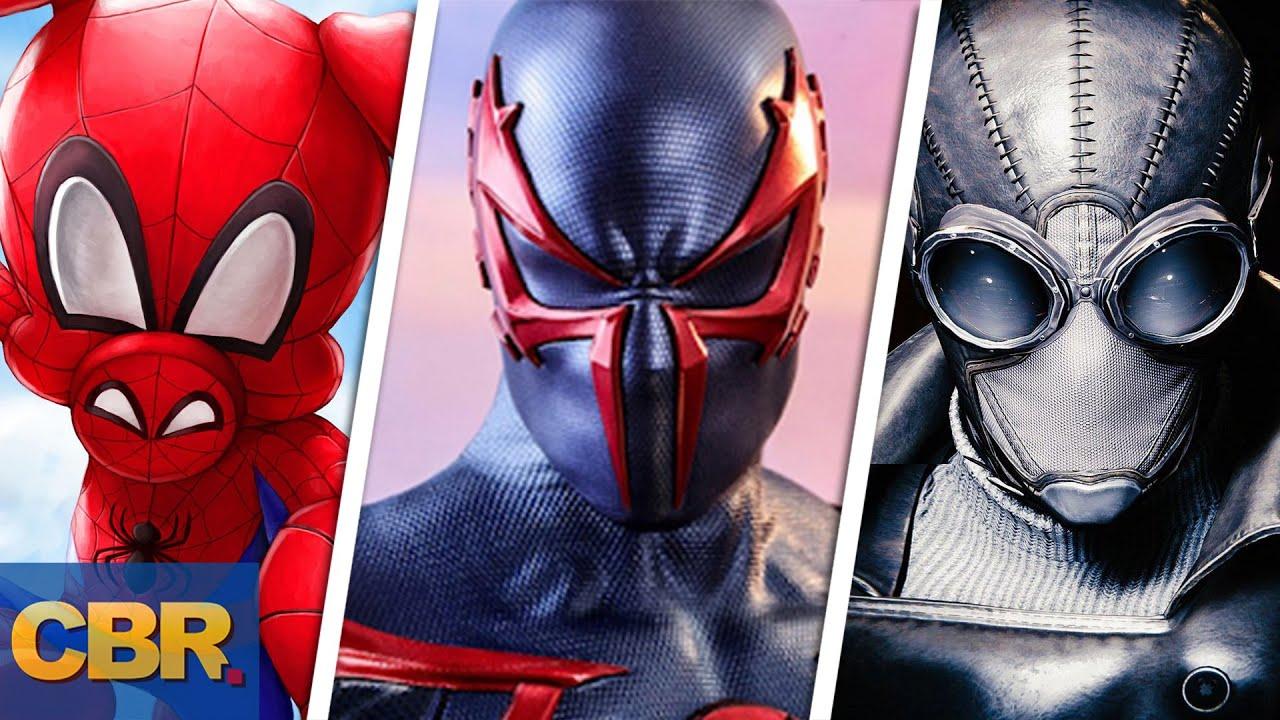 Marvel: 20 Spider-Man Multiverse Versions