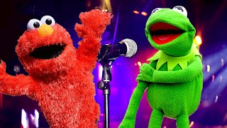Elmo and Kermit the Frog Car Karaoke! FT The Weeknd & Rihanna