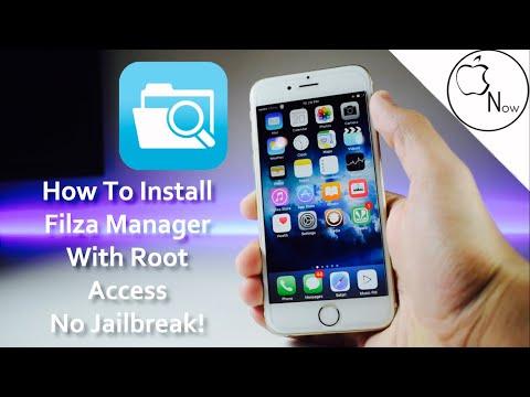 How to Install Filza And Gain Root Access! No Jailbreak! iOS 11 2018