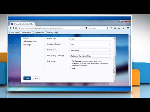 Restore Disappeared Toolbar on Yahoo!® Mail in Mozilla® Firefox