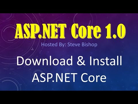 3. (ASP.NET Core 1.0 & MVC) How To Download And Install ASP.NET Core/ASP.NET 5