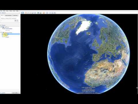 Making folders in Google Earth