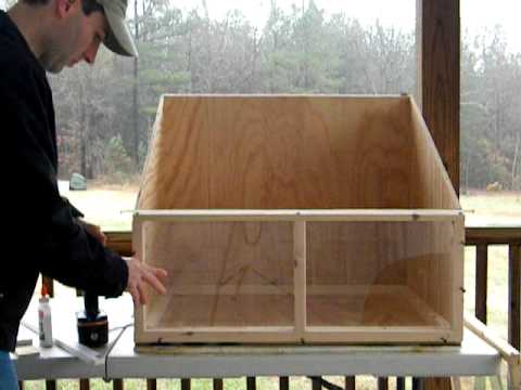 How to build a solar wood oven (incomplete)