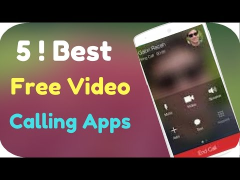 5 Best Free Video Calling Apps For Android -[2017]
