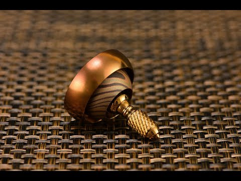 Chocolate mokume?! Let me know what you think of this BilletSPIN Thrust Spinning Top!